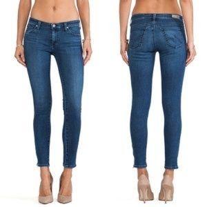 AG Zip Up Legging Skinny Ankle Jeans 27R